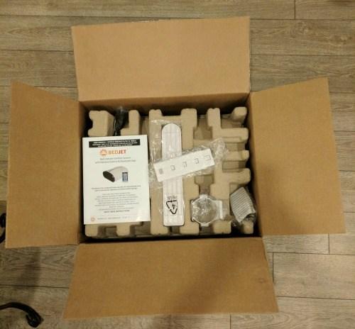 Unboxing BedJet V2