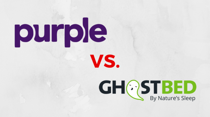 Purple vs Ghostbed Mattress
